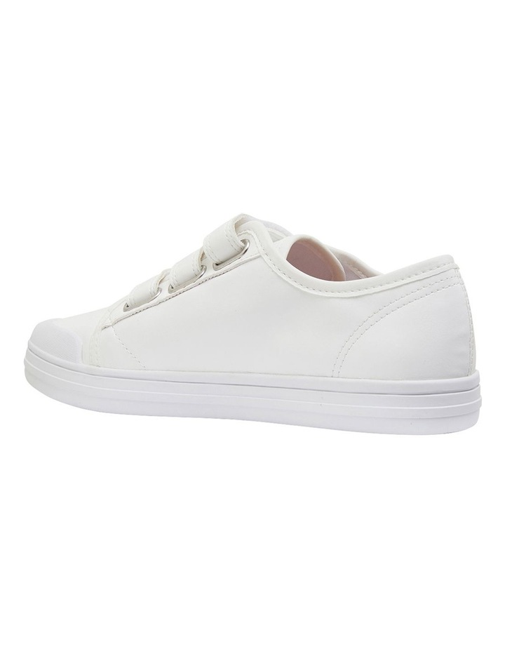 Veda White Smooth Sneakers image 7