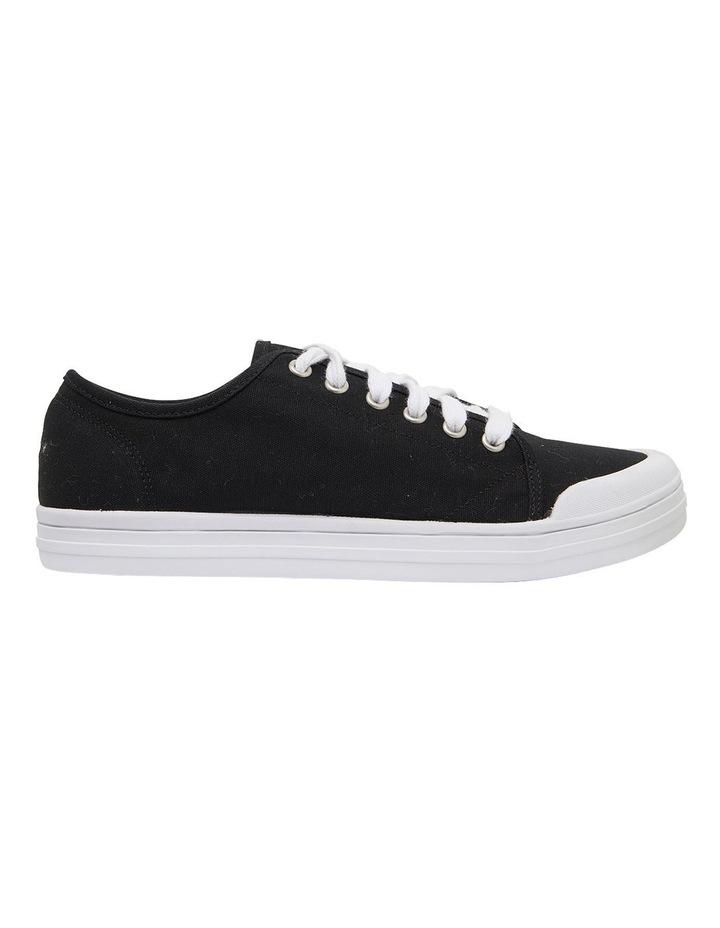 Ventura Black Canvas Sneakers image 1
