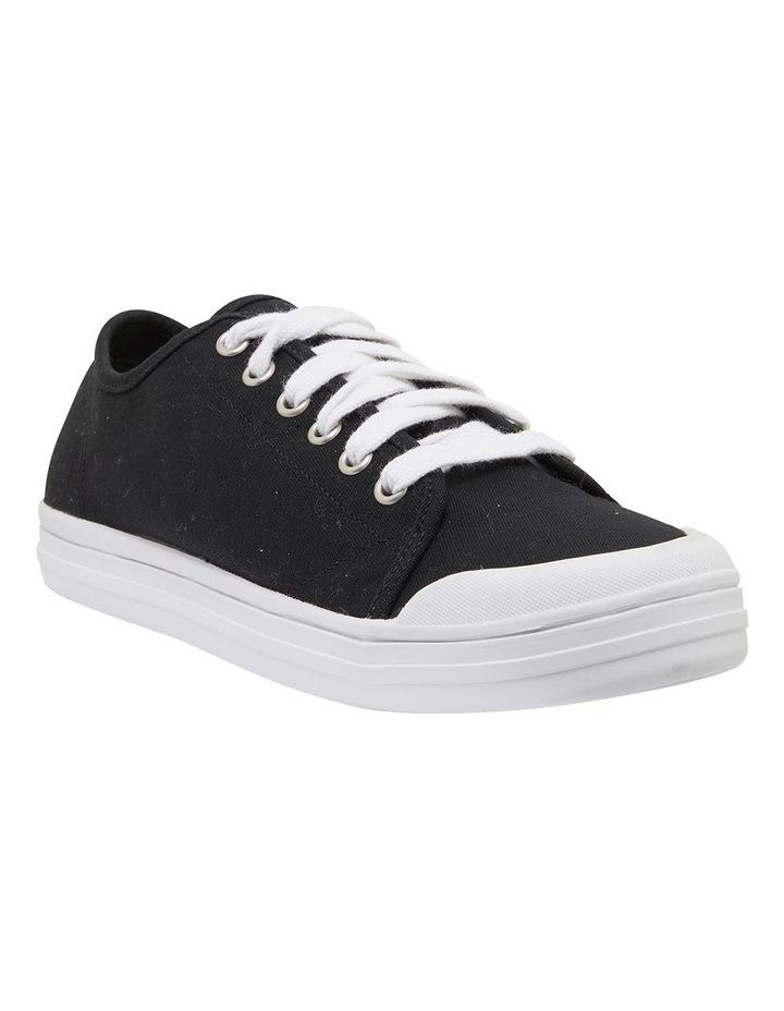 Ventura Black Canvas Sneakers image 2