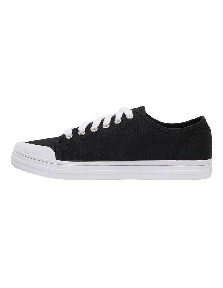 Ventura Black Canvas Sneakers image 3