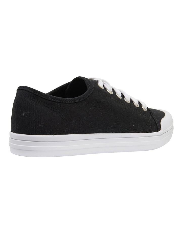 Ventura Black Canvas Sneakers image 4