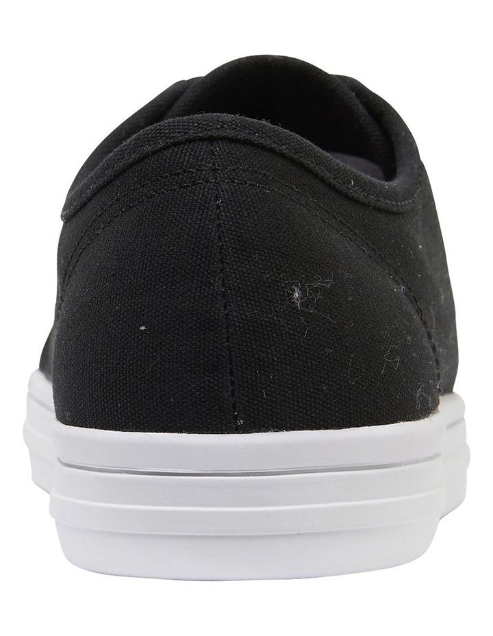 Ventura Black Canvas Sneakers image 5