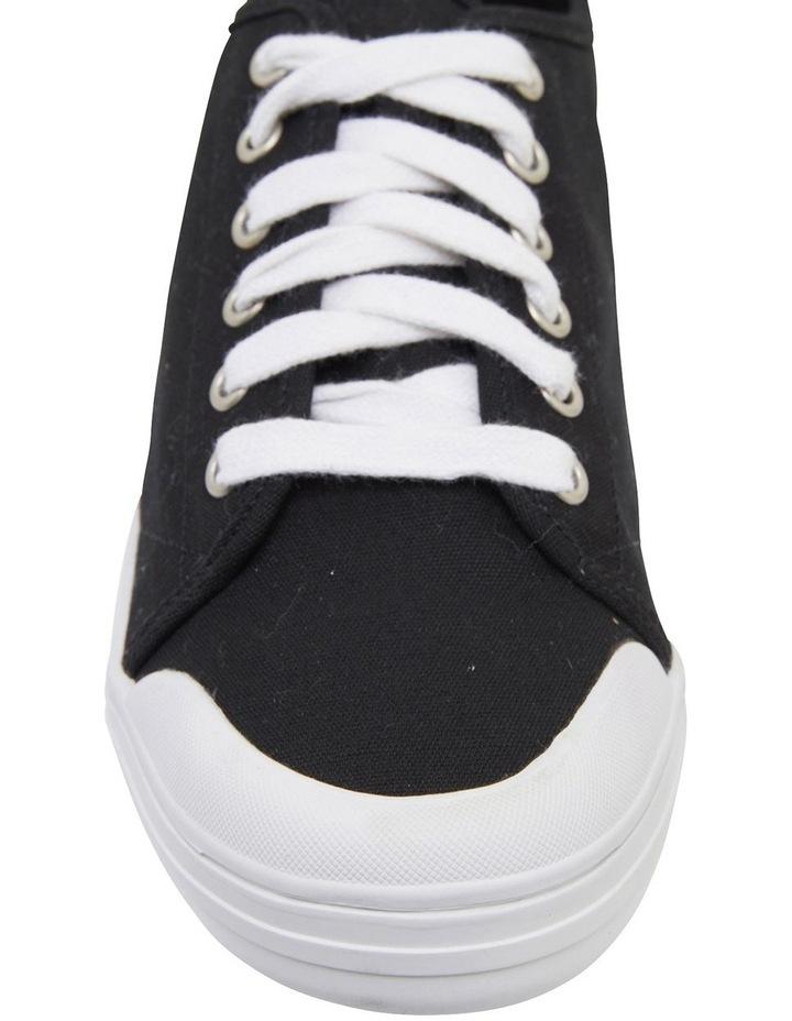 Ventura Black Canvas Sneakers image 6