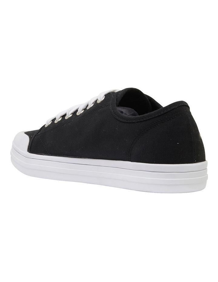Ventura Black Canvas Sneakers image 7