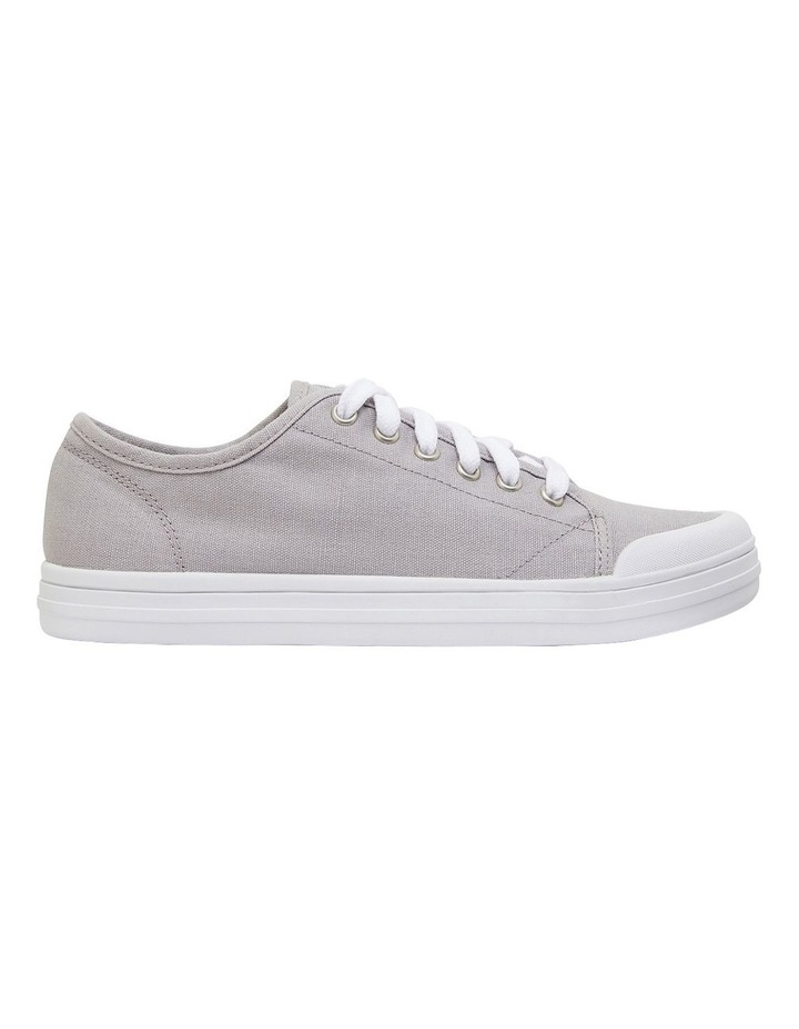 Ventura Grey Canvas Sneakers image 1