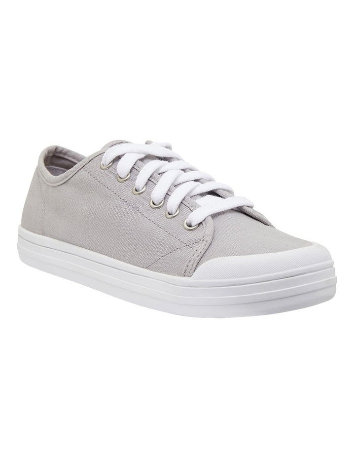Ventura Grey Canvas Sneakers image 2