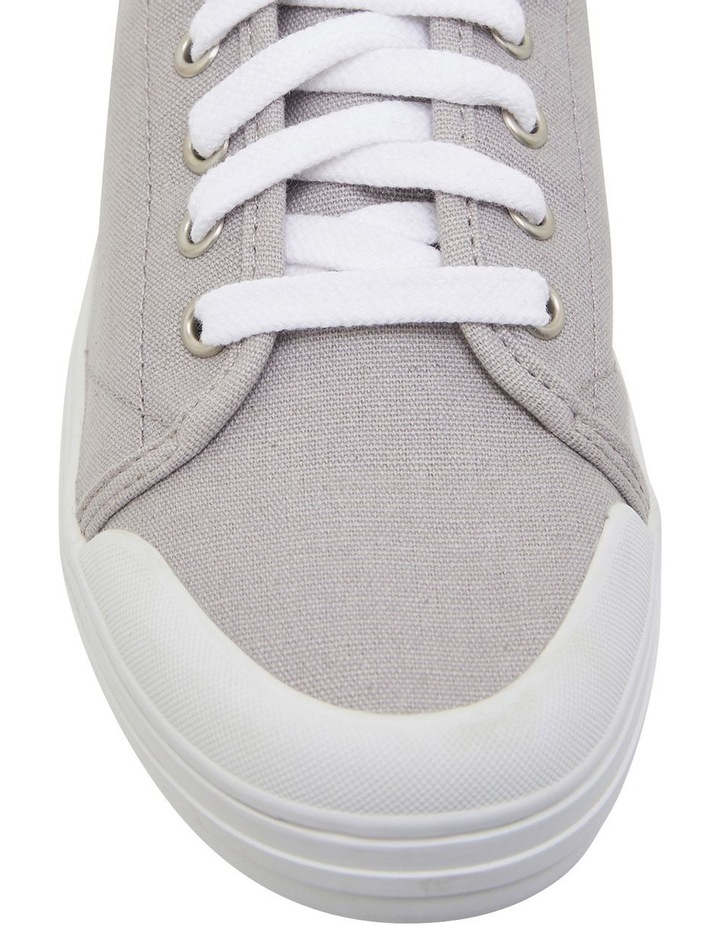 Ventura Grey Canvas Sneakers image 6