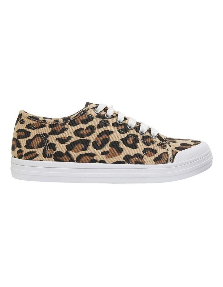 Ventura Leopard Canvas Sneakers image 1