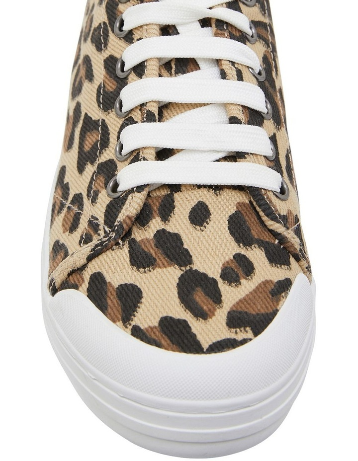 Ventura Leopard Canvas Sneakers image 6