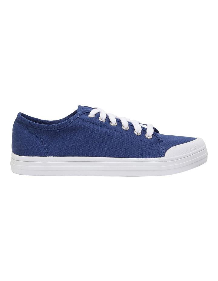 Ventura Navy Canvas Sneakers image 1