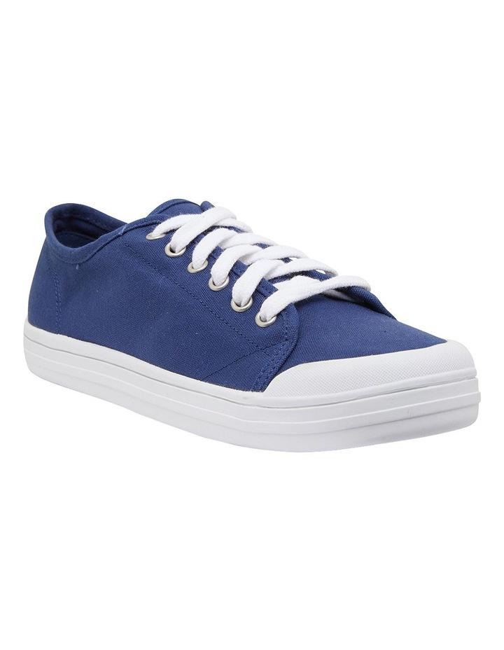 Ventura Navy Canvas Sneakers image 2