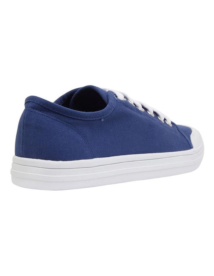 Ventura Navy Canvas Sneakers image 4