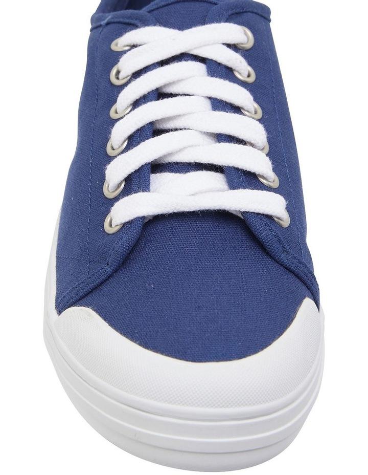 Ventura Navy Canvas Sneakers image 6