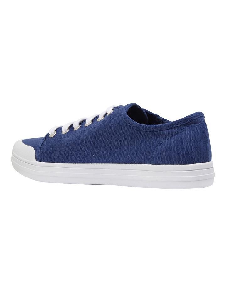 Ventura Navy Canvas Sneakers image 7