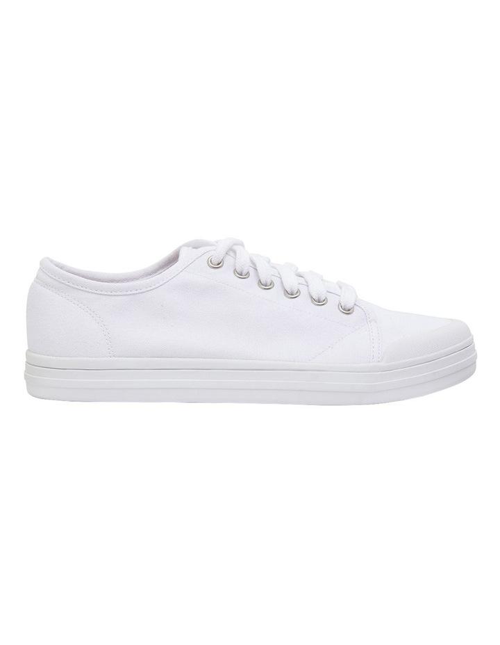 Ventura White Canvas Sneakers image 1