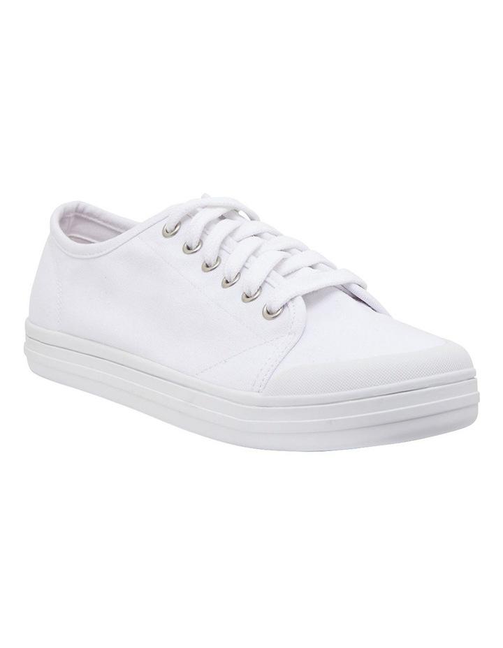 Ventura White Canvas Sneakers image 2
