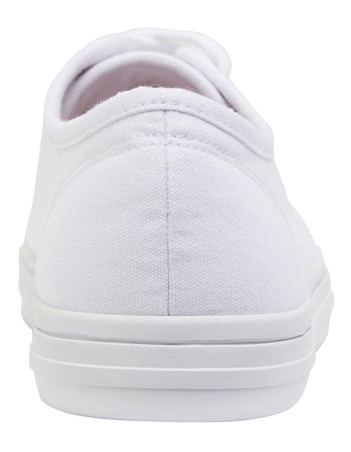 Ventura White Canvas Sneakers image 5