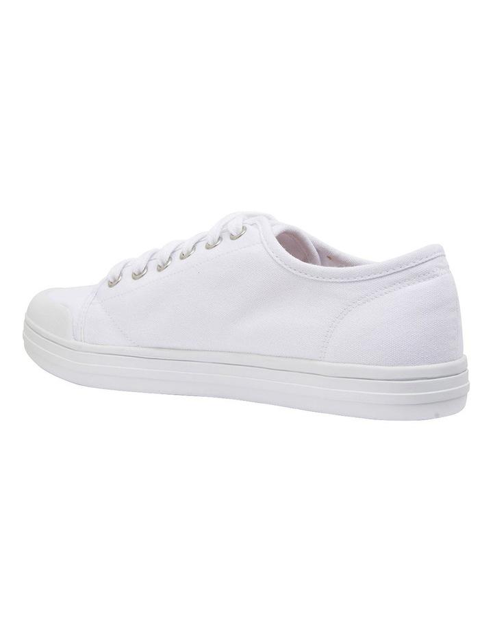 Ventura White Canvas Sneakers image 7