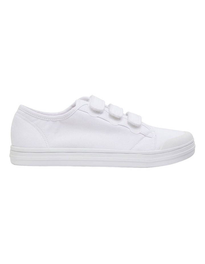 Vessie White Canvas Sneakers image 1