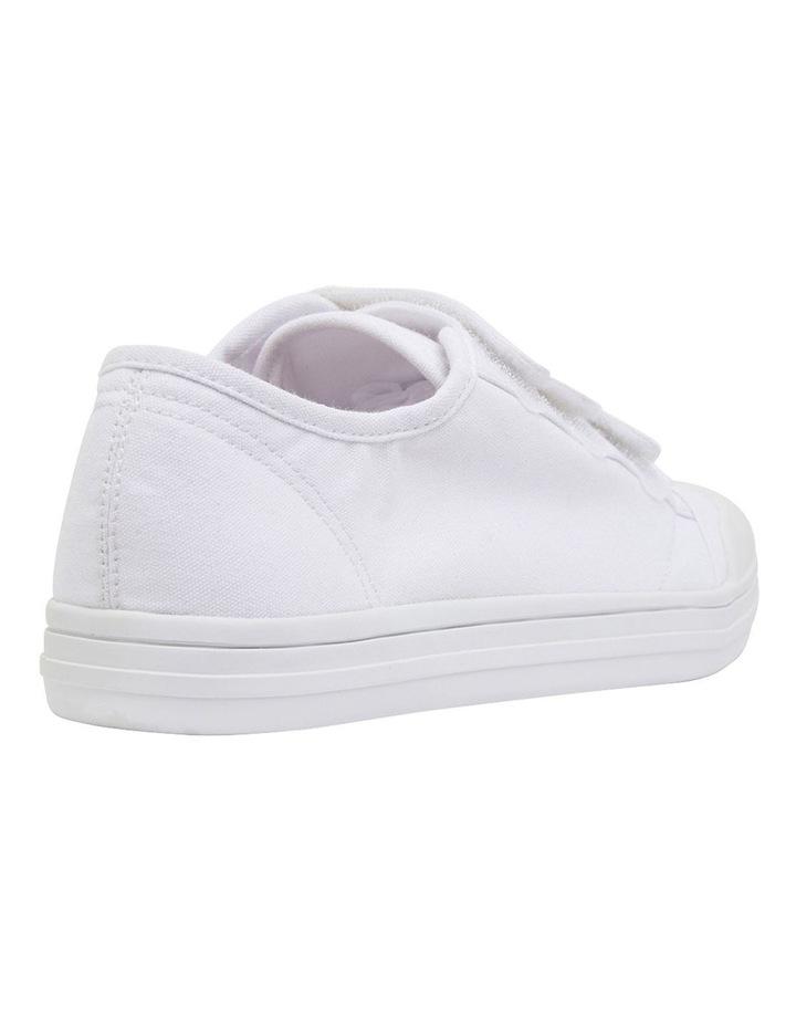 Vessie White Canvas Sneakers image 4