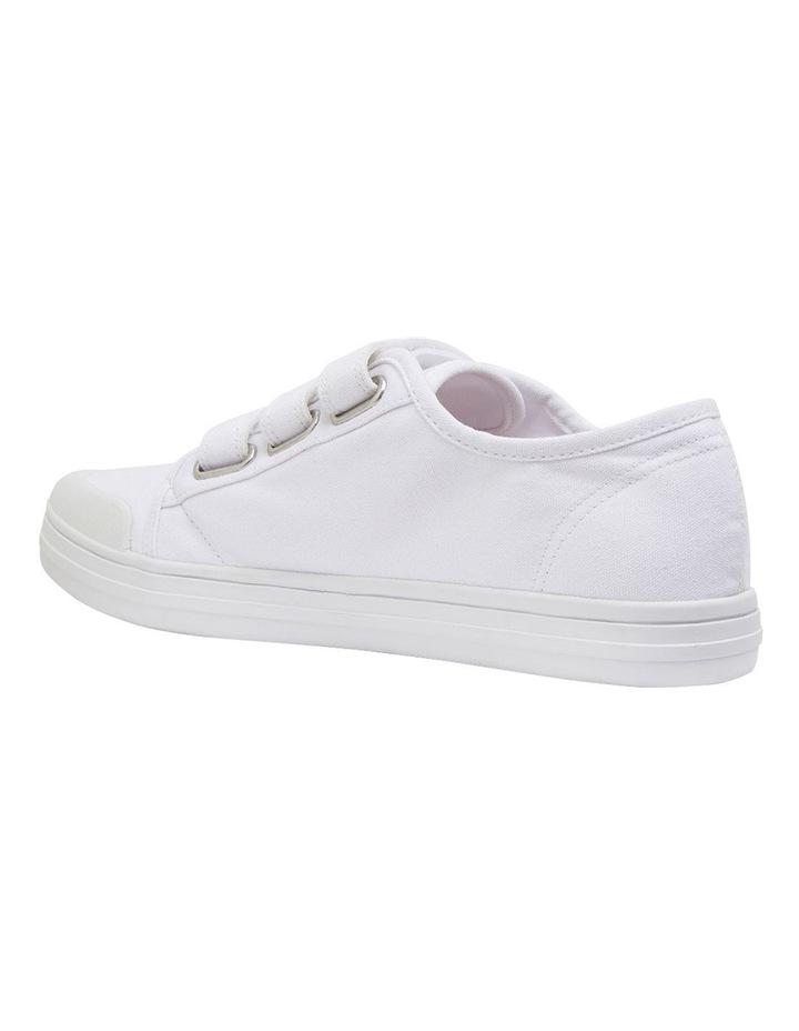 Vessie White Canvas Sneakers image 7
