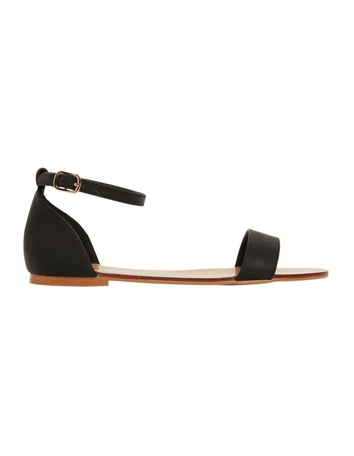 Babco Black Smooth Sandal image 1