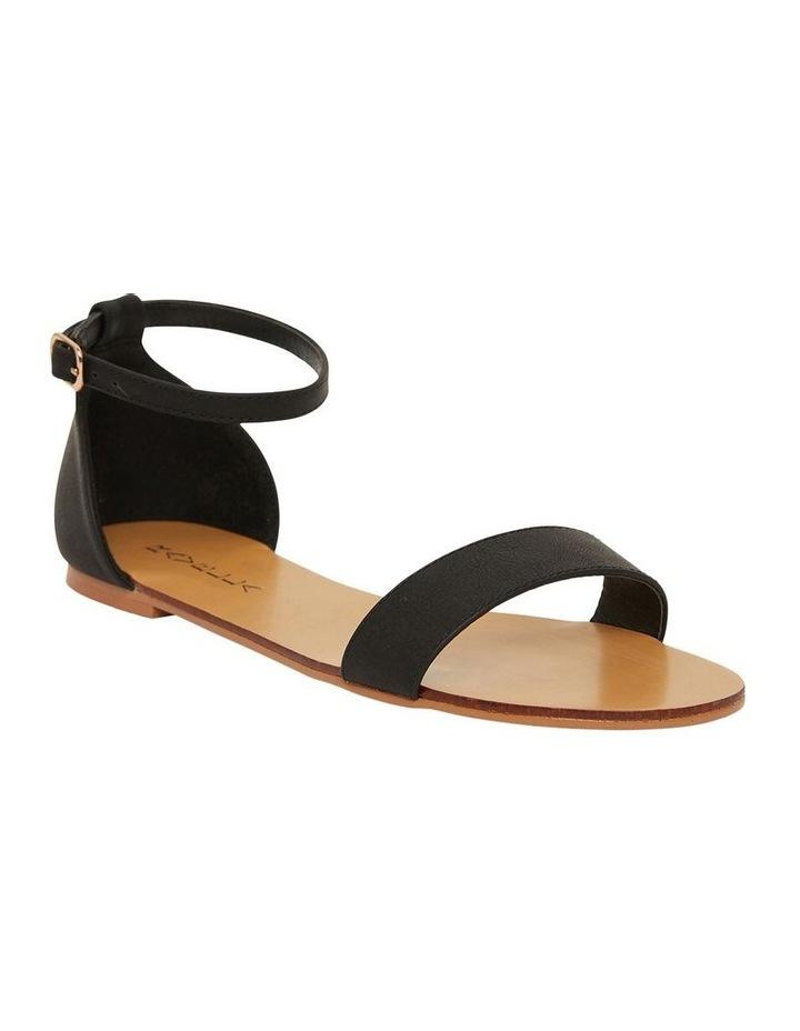 Babco Black Smooth Sandal image 2