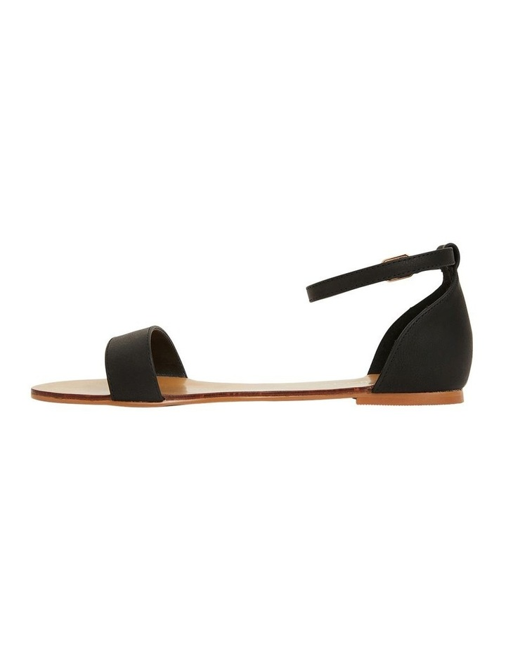 Babco Black Smooth Sandal image 3