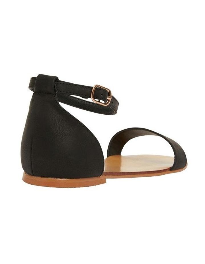 Babco Black Smooth Sandal image 4