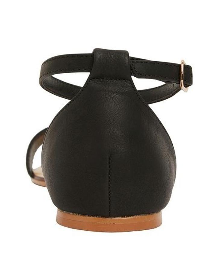 Babco Black Smooth Sandal image 5