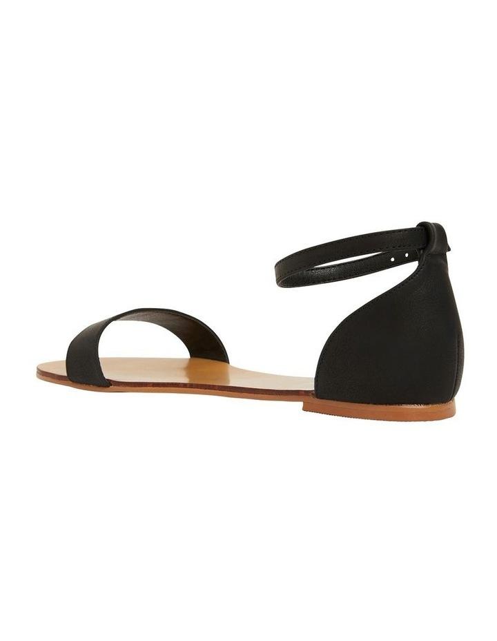 Babco Black Smooth Sandal image 7