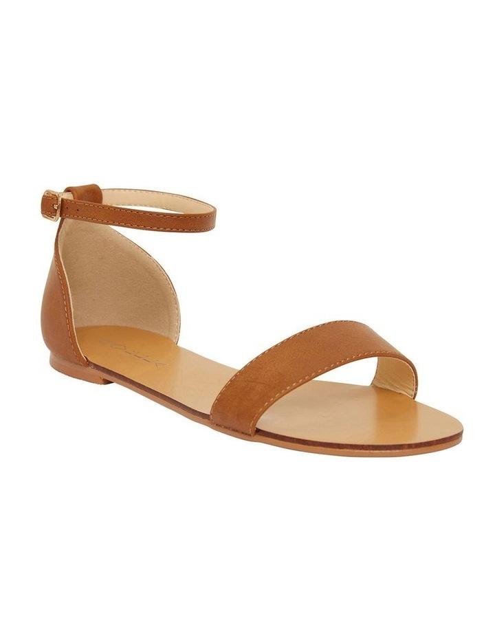 Babco Tan Smooth Sandal image 2