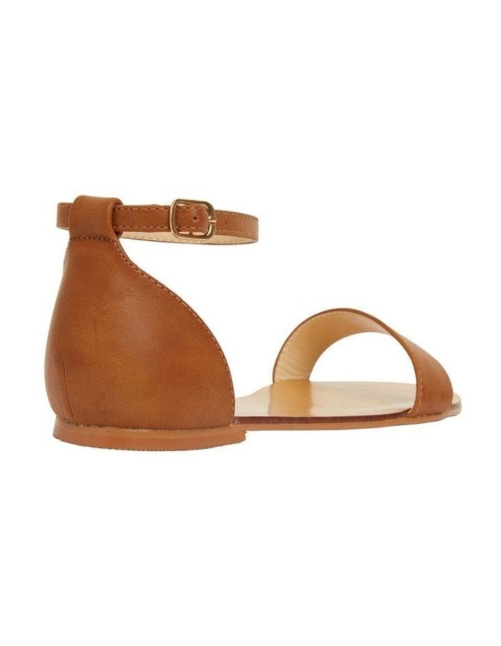 Babco Tan Smooth Sandal image 4