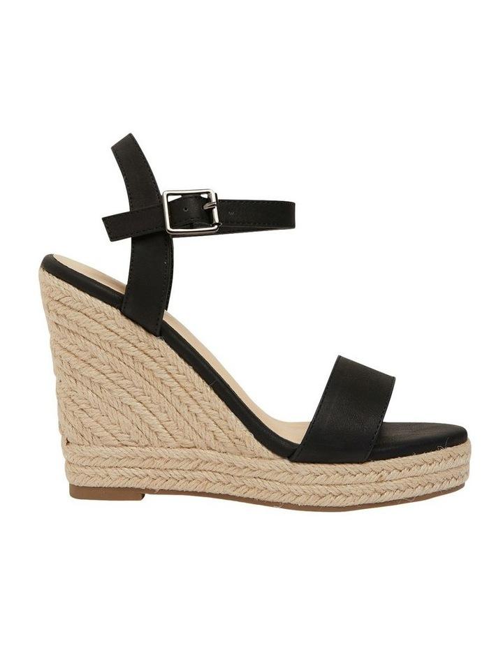 Amato Black Smooth Sandals image 1
