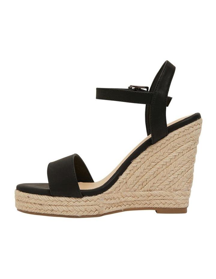 Amato Black Smooth Sandals image 3