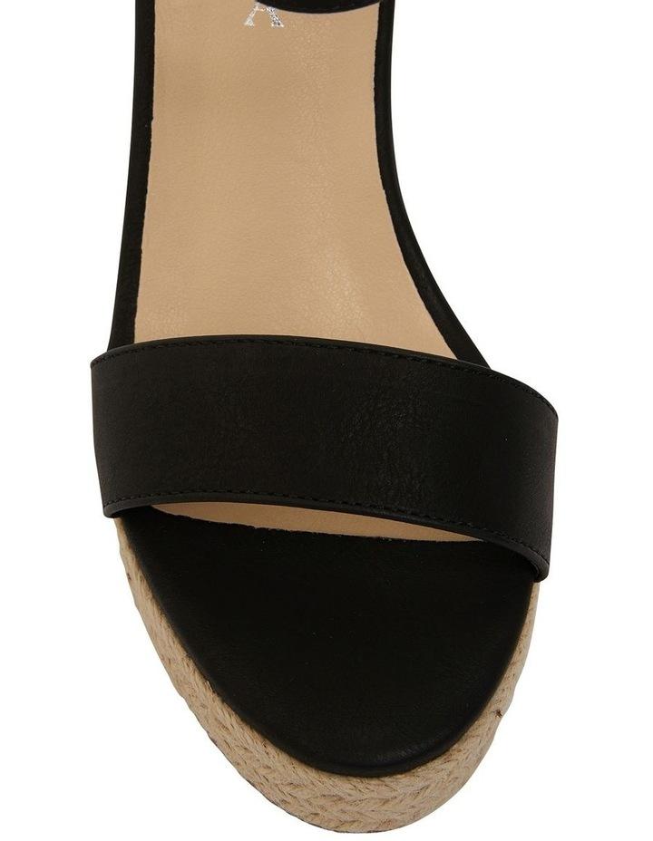 Amato Black Smooth Sandals image 6
