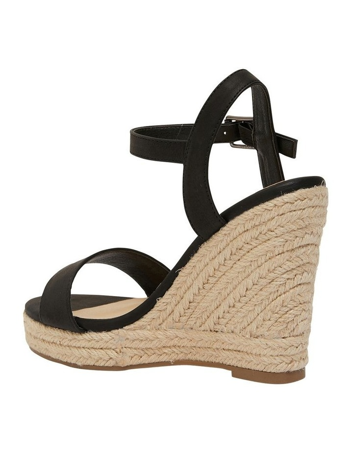 Amato Black Smooth Sandals image 7
