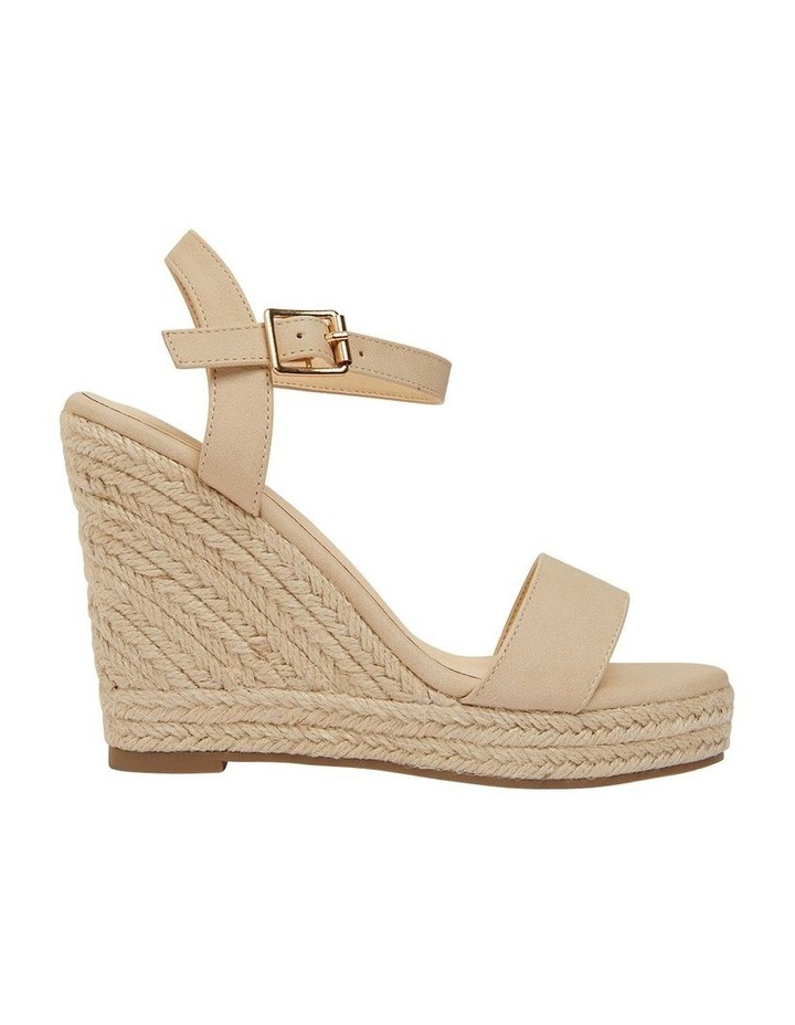 Amato Nude Smooth Sandals image 1