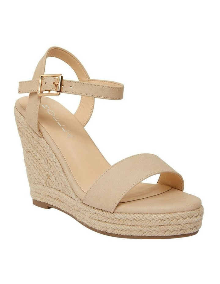 Amato Nude Smooth Sandals image 2