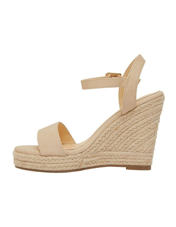 Amato Nude Smooth Sandals image 3