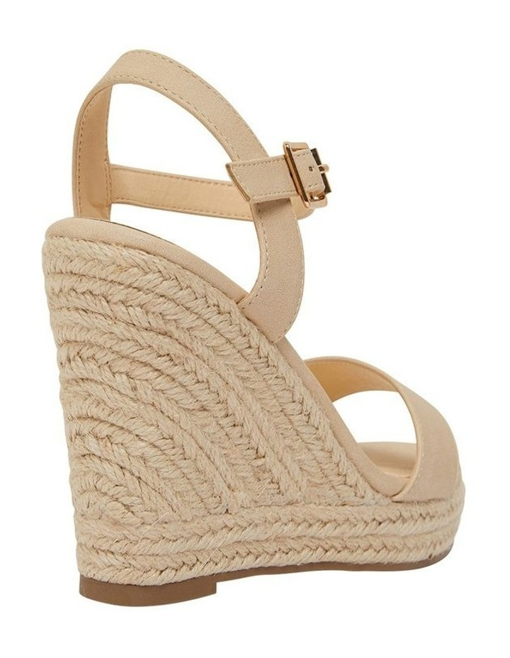 Amato Nude Smooth Sandals image 4