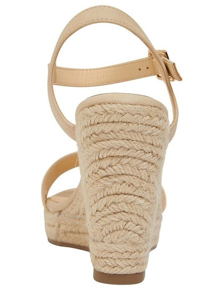 Amato Nude Smooth Sandals image 5