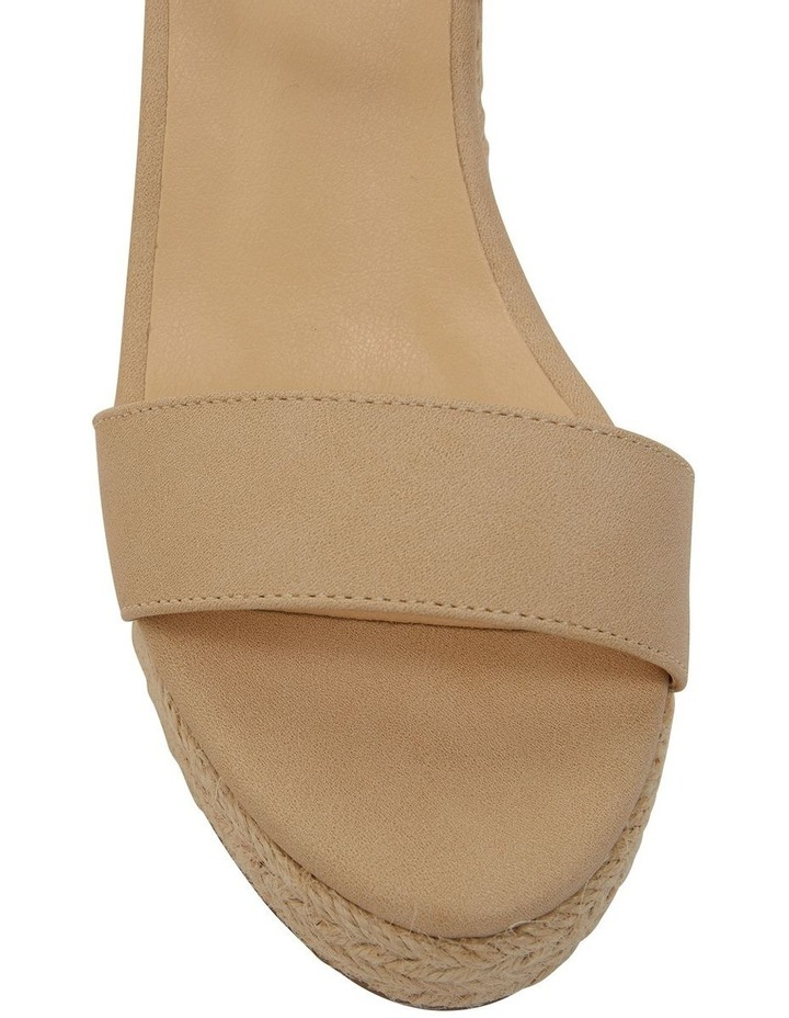 Amato Nude Smooth Sandals image 6