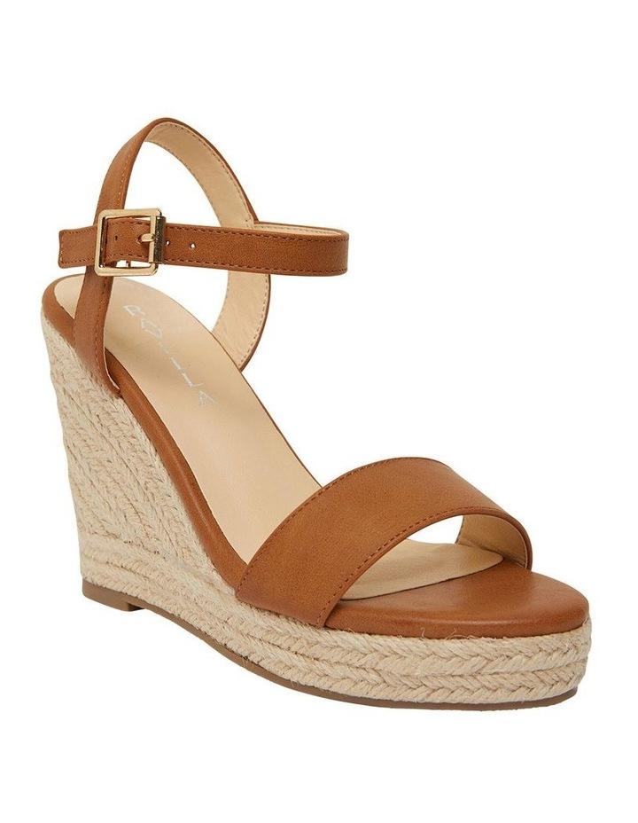 Amato Tan Smooth Sandals image 2