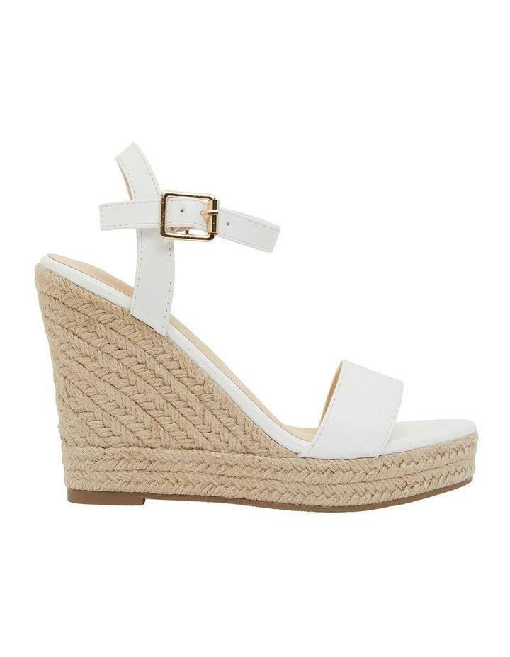 Amato White Smooth Sandals image 1