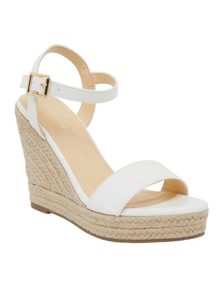 Amato White Smooth Sandals image 2