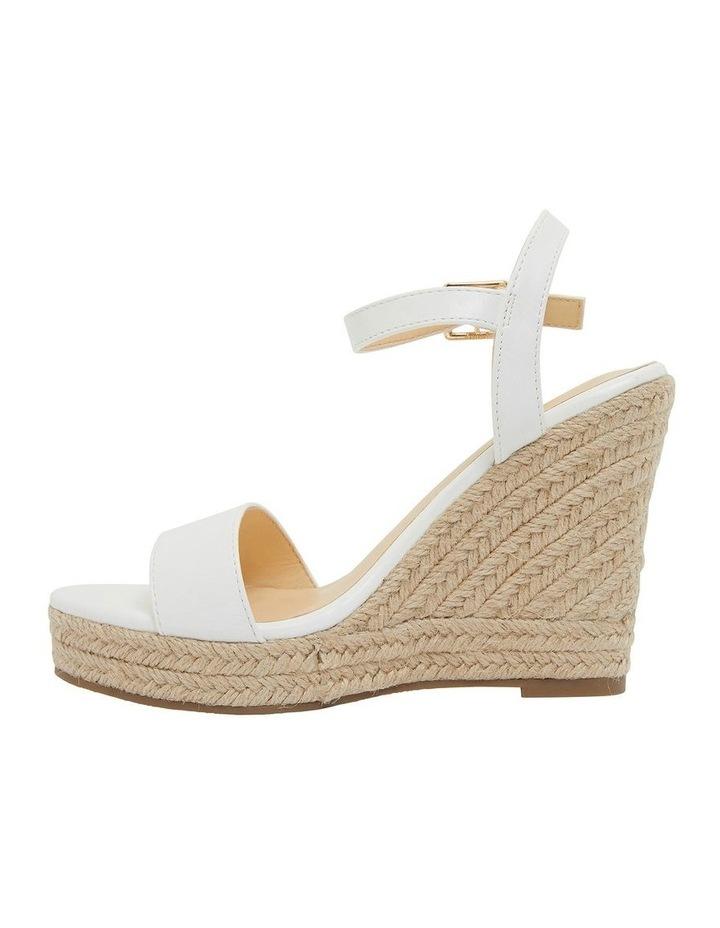 Amato White Smooth Sandals image 3