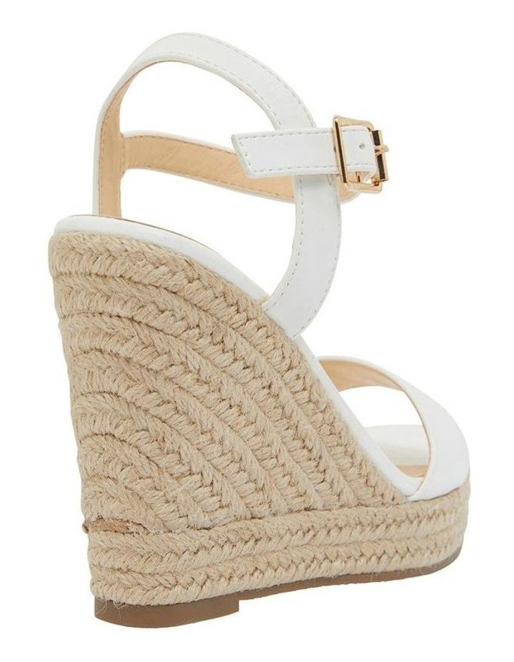 Amato White Smooth Sandals image 4