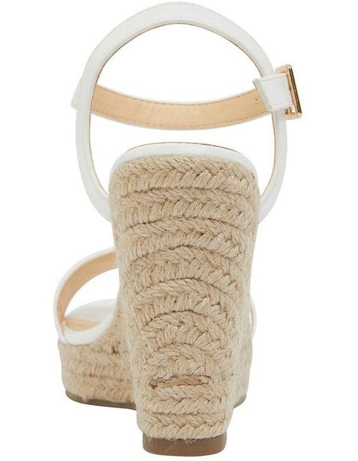 Amato White Smooth Sandals image 5