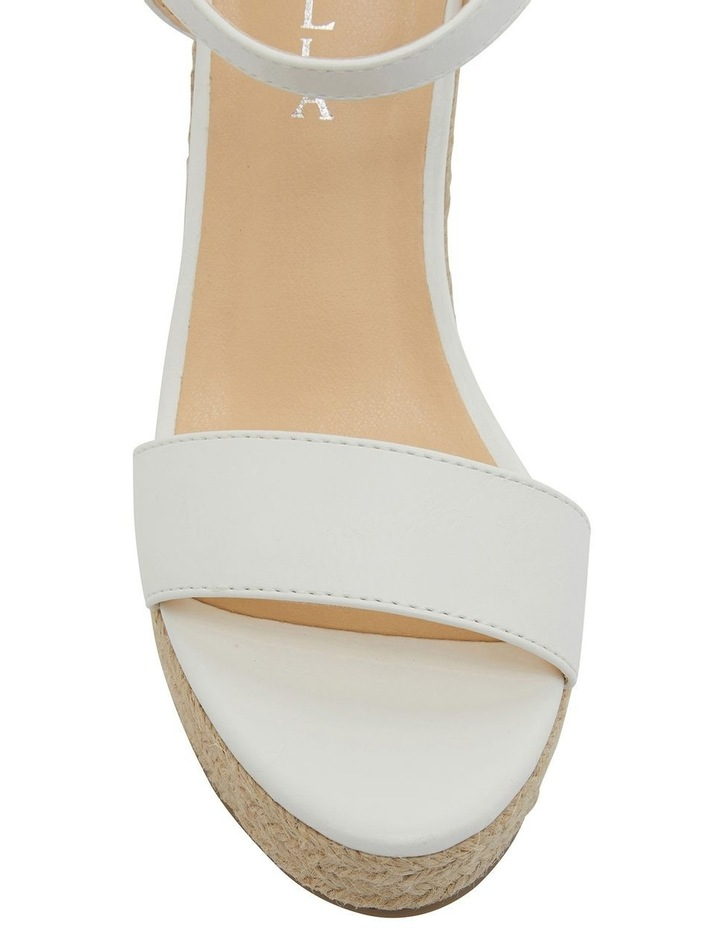 Amato White Smooth Sandals image 6
